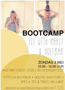 fit met Marit bootcamp