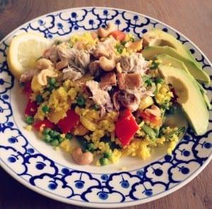 rijstsalade