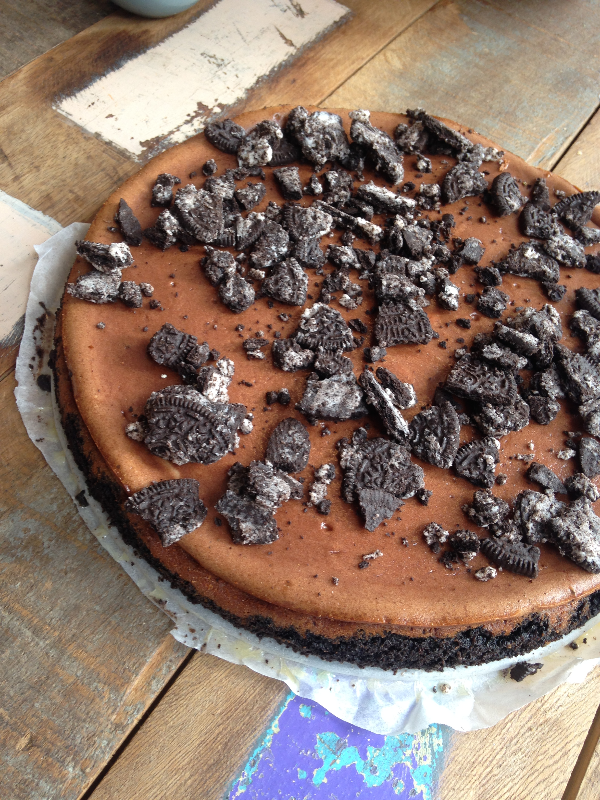 recept fit with marit oreo nutella cheesecake. Black Bedroom Furniture Sets. Home Design Ideas