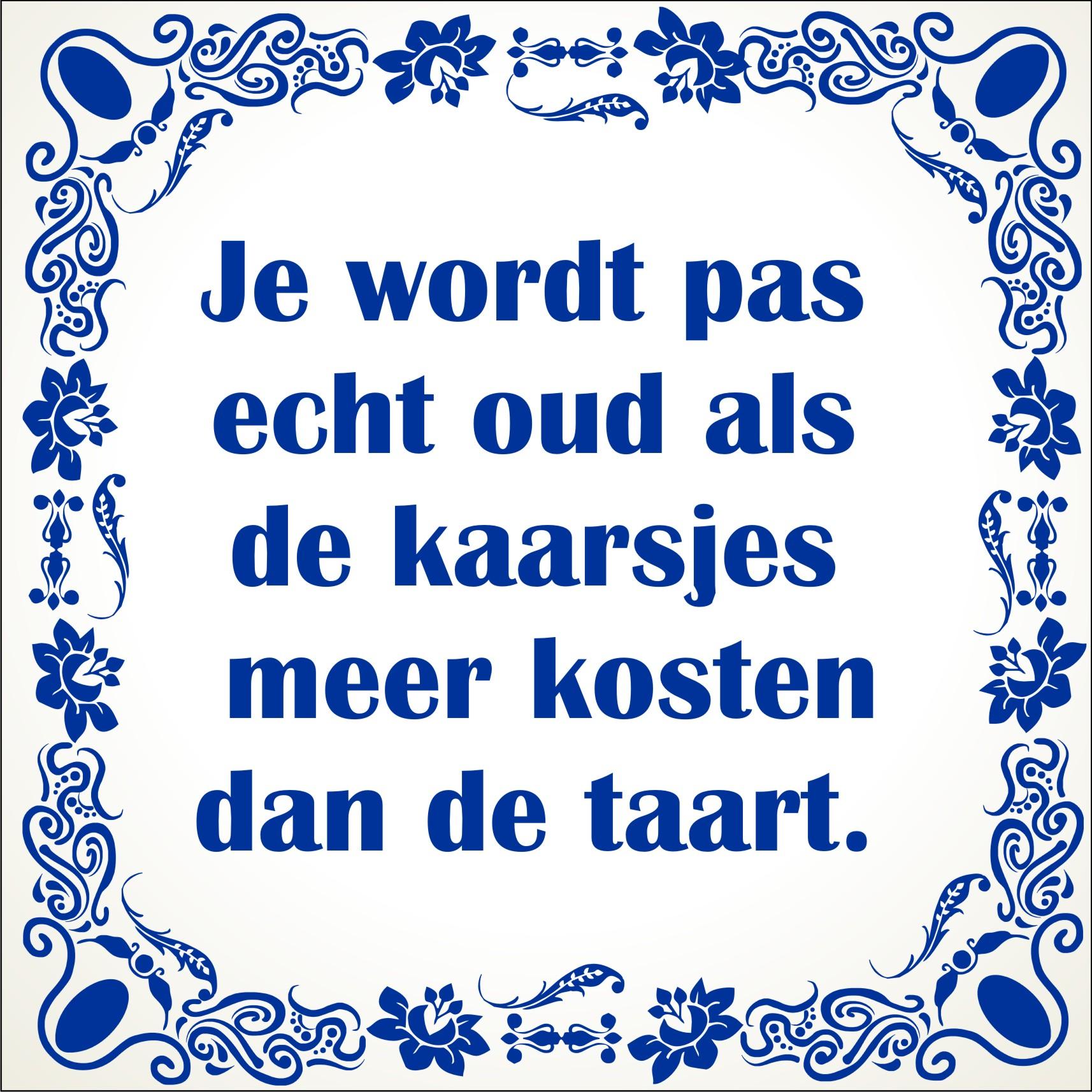 40 Jaar Oud Worden