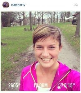 run shorty fit in de winter