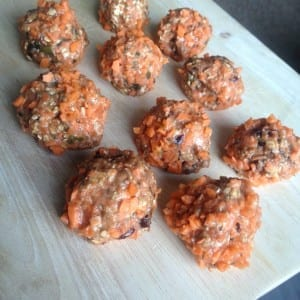 healthy carrot cake balletjes