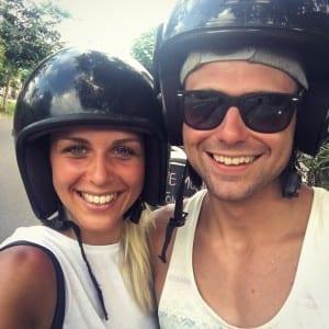 scooter rijden in uluwatu
