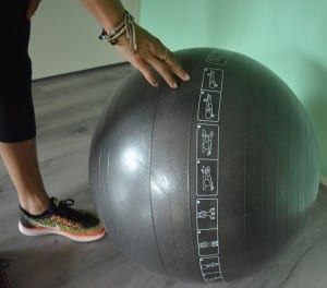 exercise ball oefeningen