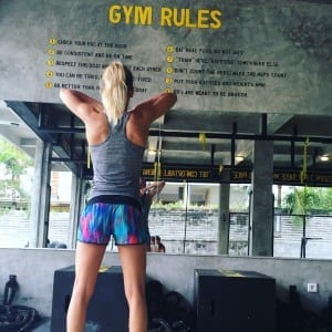 train for warrior bali fit