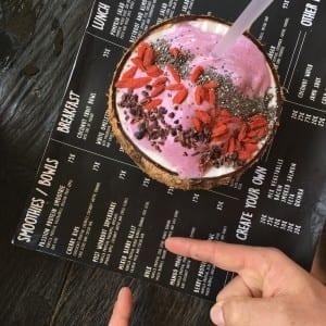 smoothie bowl bali fit