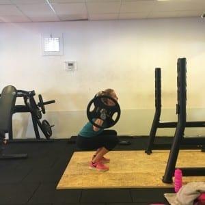 legday oefening: de squat
