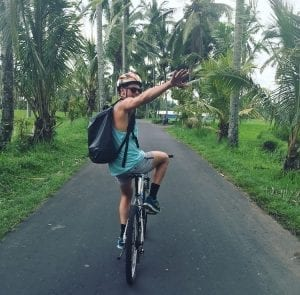 mountainbike rijstvelden ubud