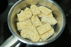 recept tempé met pindasaus