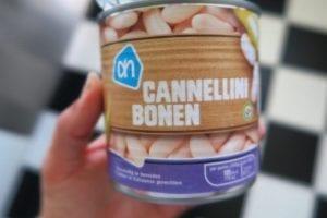 gezonde eiwitrijke cannellini cake