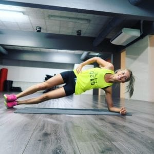 fit with marit side plank