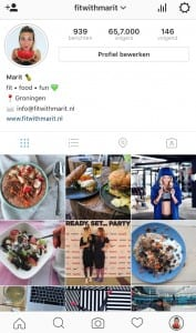 fit with marit instagram