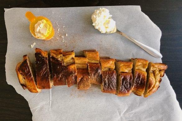 Eiwitrijke cake met cannellini bonen