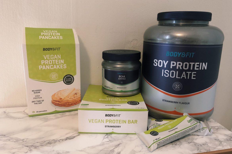 Vegan producten Body&Fit review