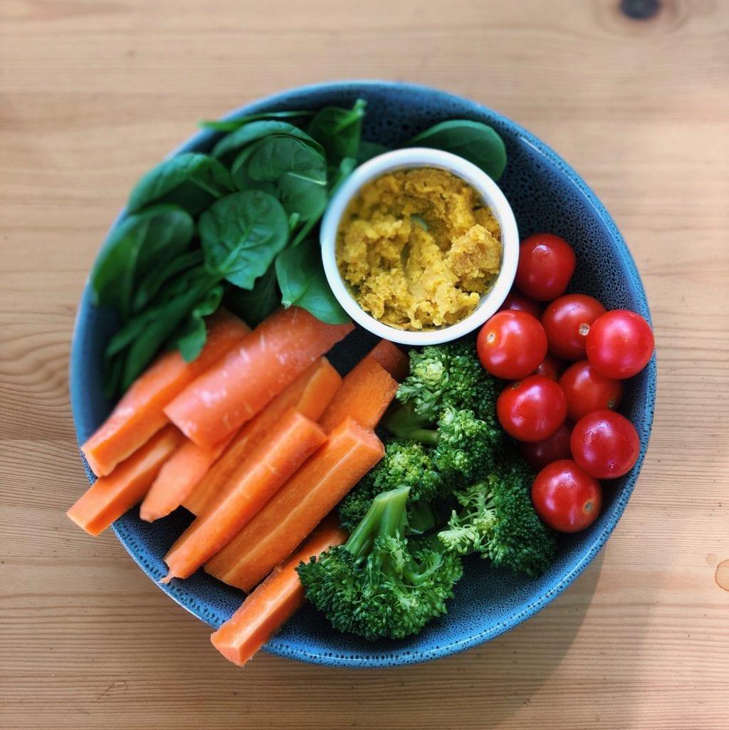 groente snacks