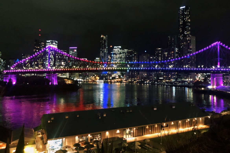 Story Bridge Rainbow
