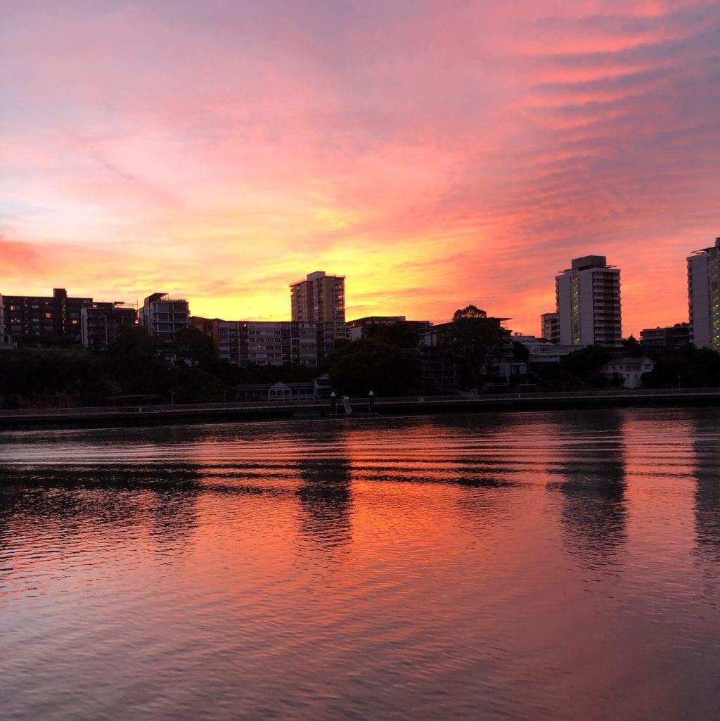 zonsopgang Brisbane