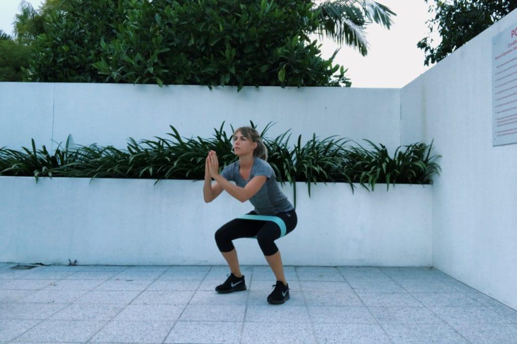 Weerstandsbanden: squat