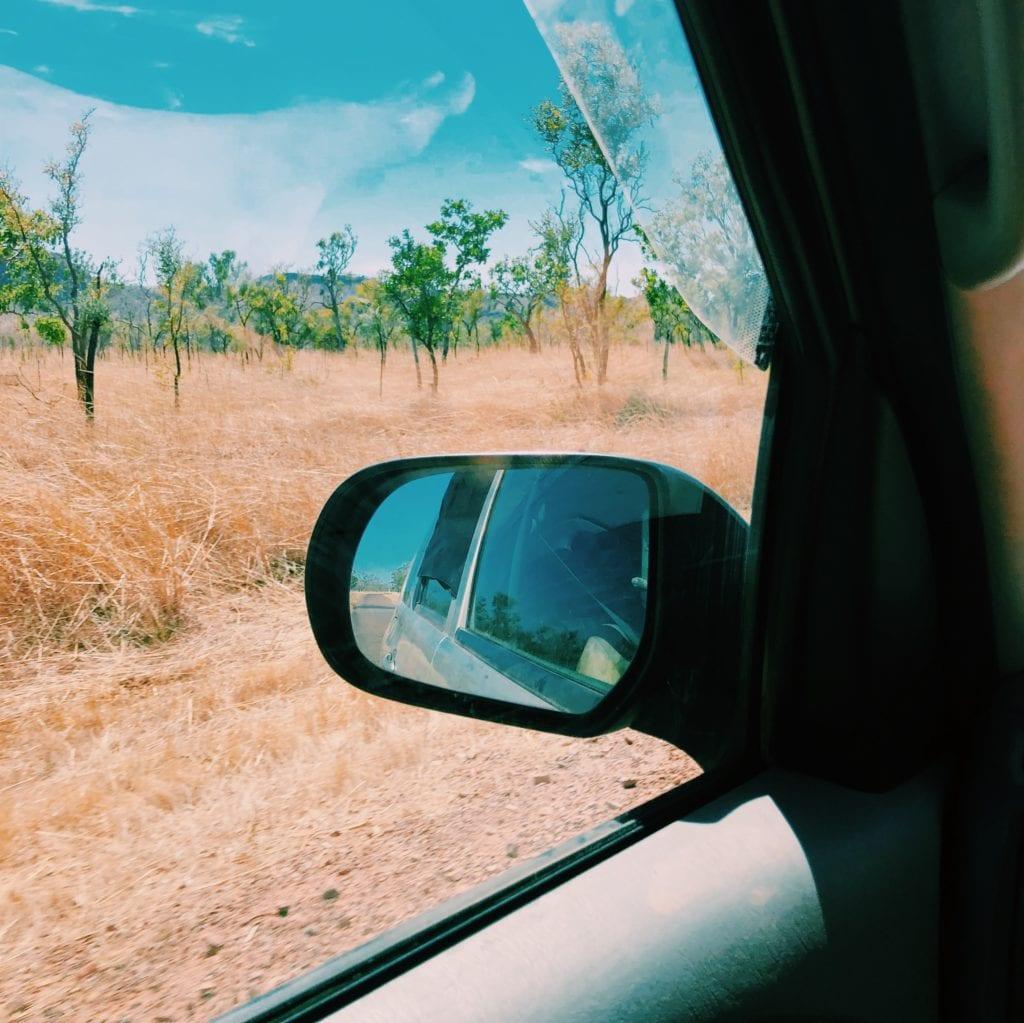 landschap Australie