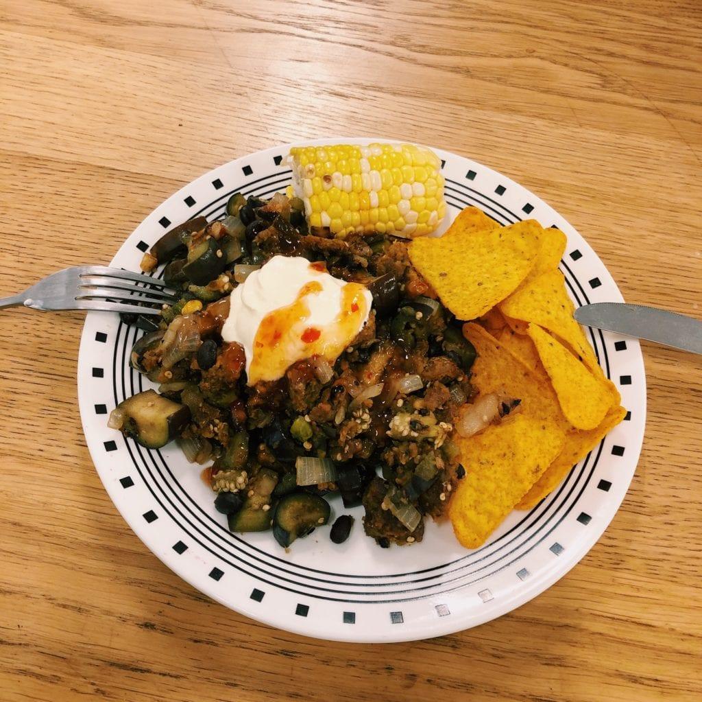 nacho's dinner