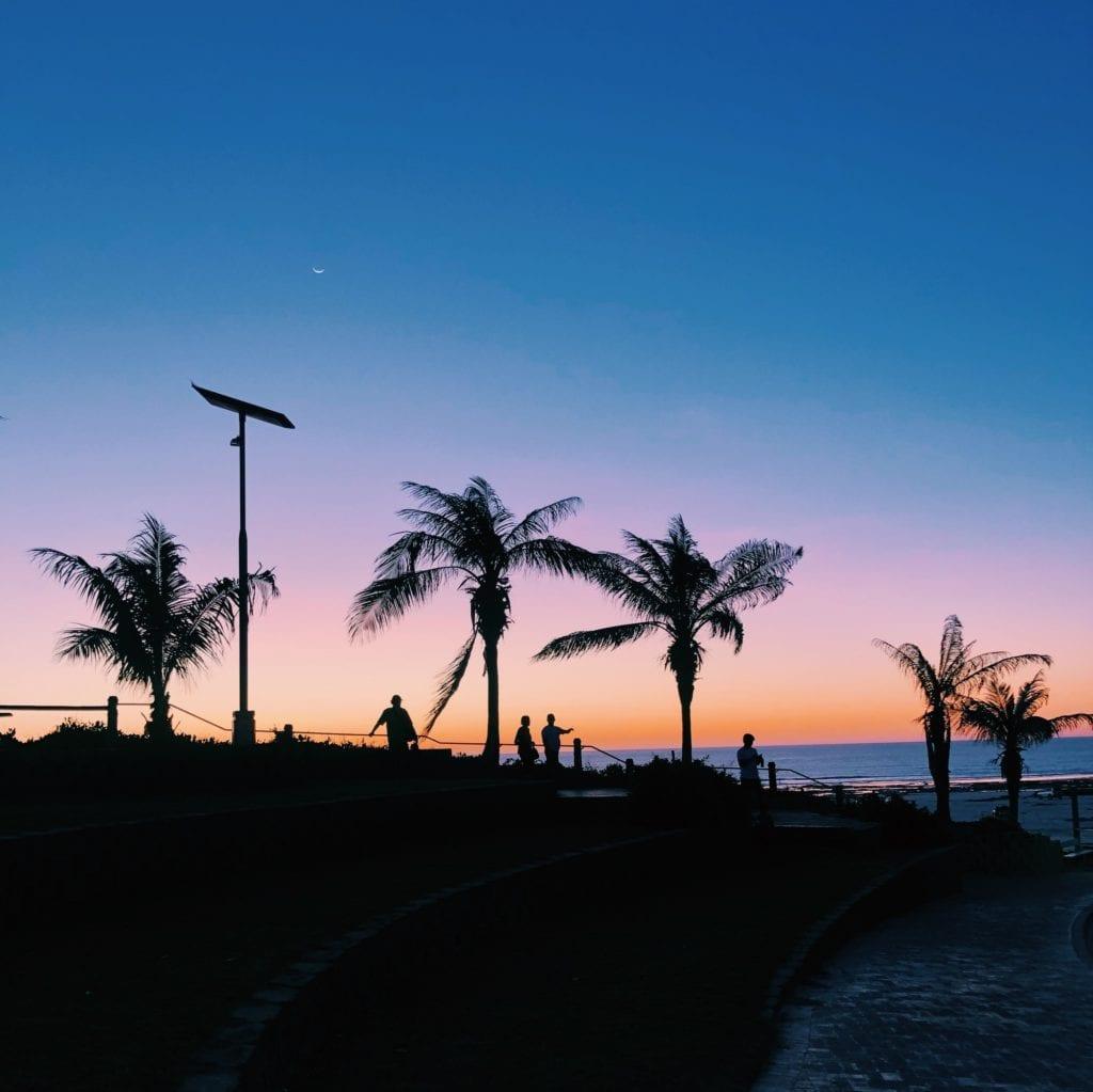 zonsondergang Broome