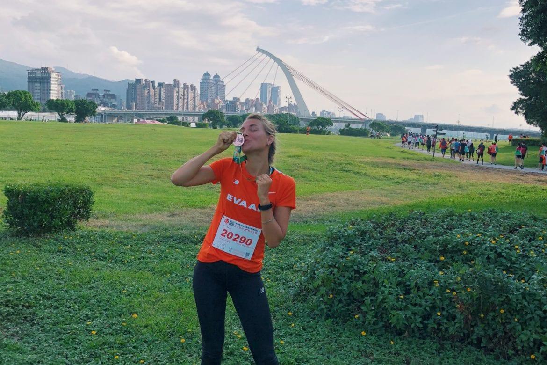 Eva Air Run Taipei