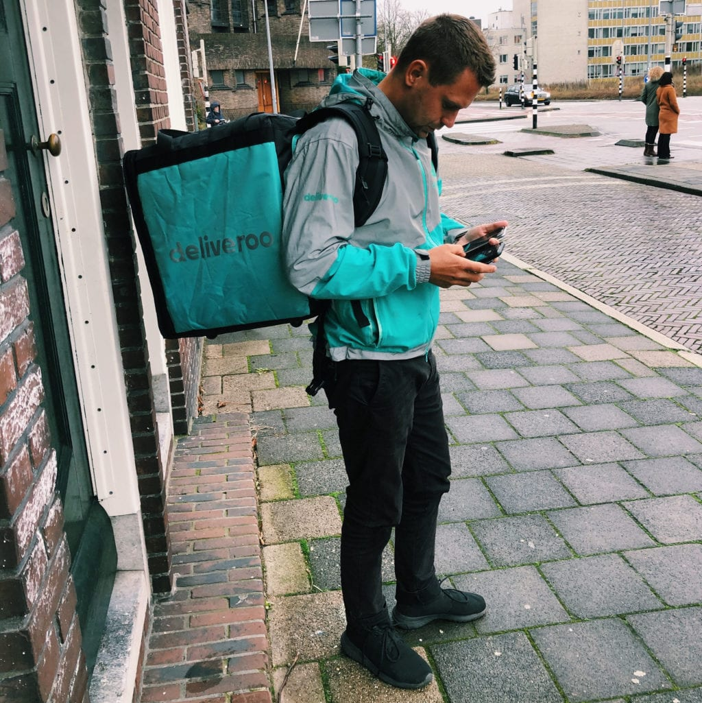 Deliveroo Delivers