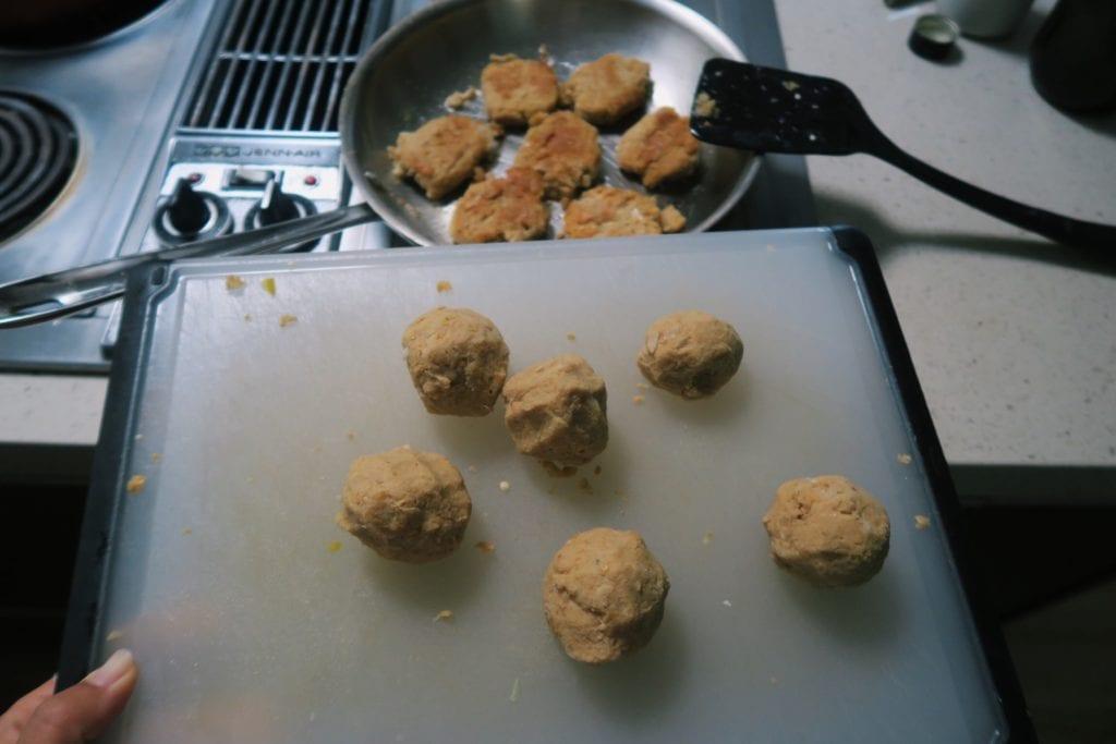 Zelf falafel maken