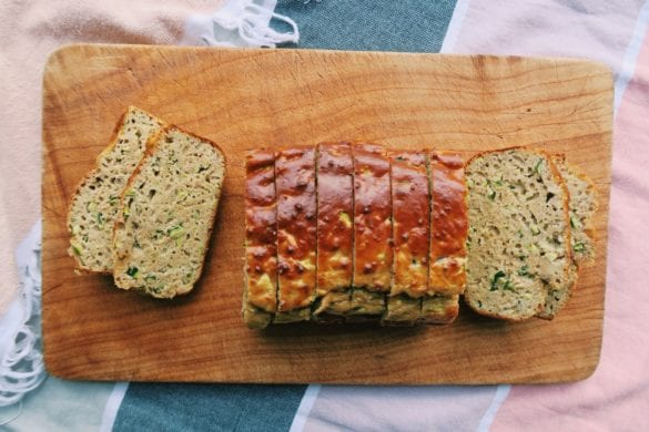 Bananen courgette brood