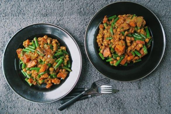 vegetarische pindacurry