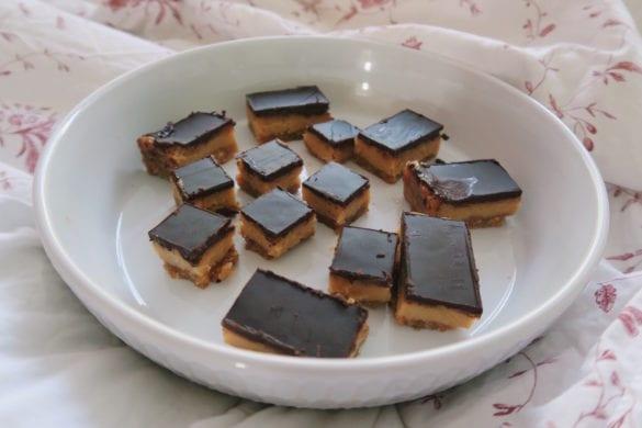 chocolade caramel slices