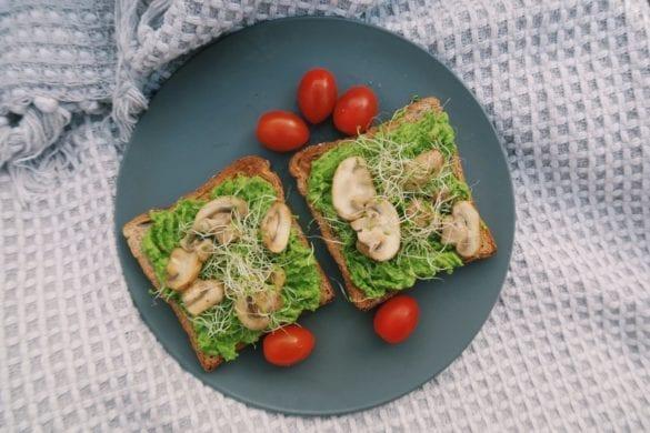 doperwten avocado spread