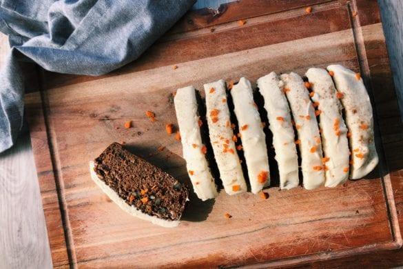 Carrotcake uit cakeblik