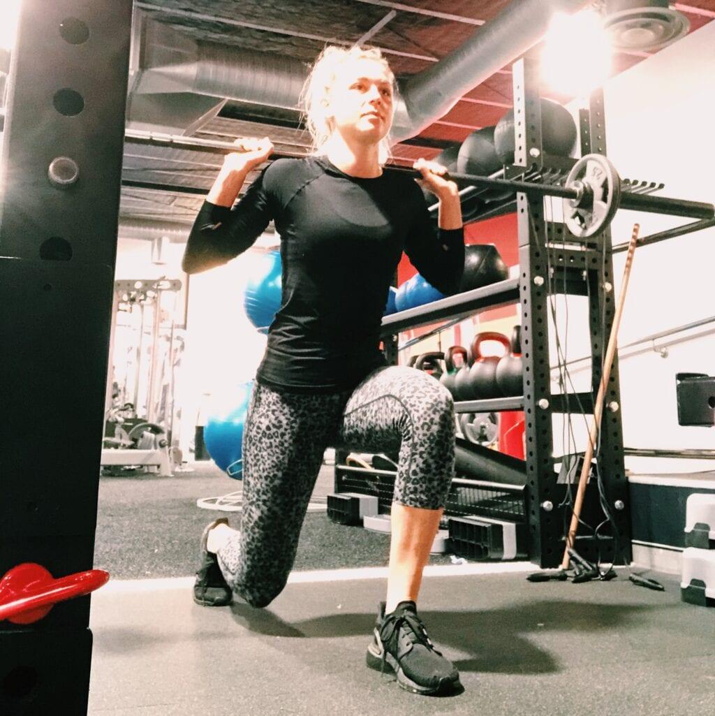 Workout in de gym