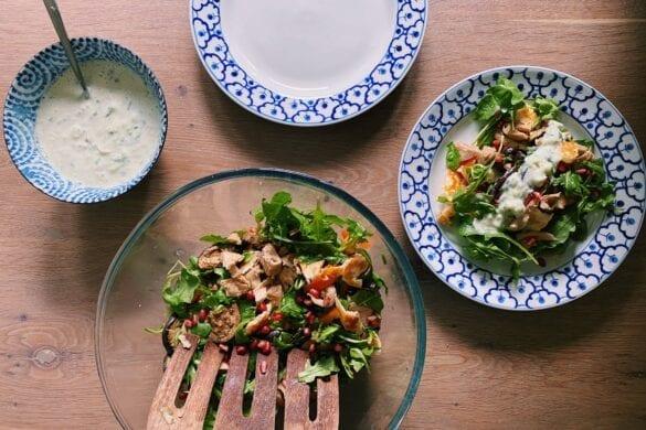 BBQ salade vega