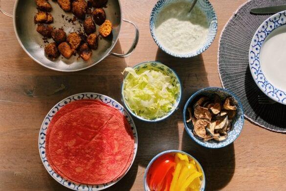 Wraps met falafel