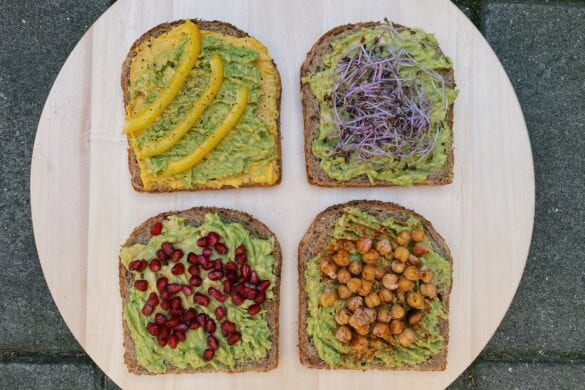 Avocado toast inspiratie
