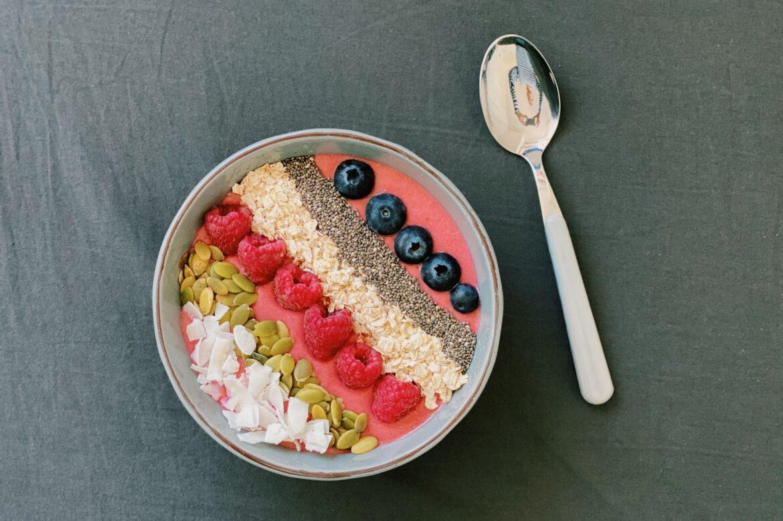 Bieten smoothie bowl