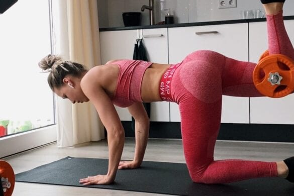 Woonkamer workout