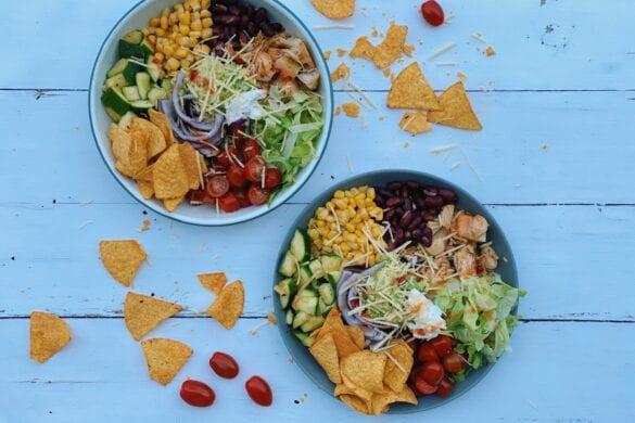 Mexicaanse bowl plantaardig