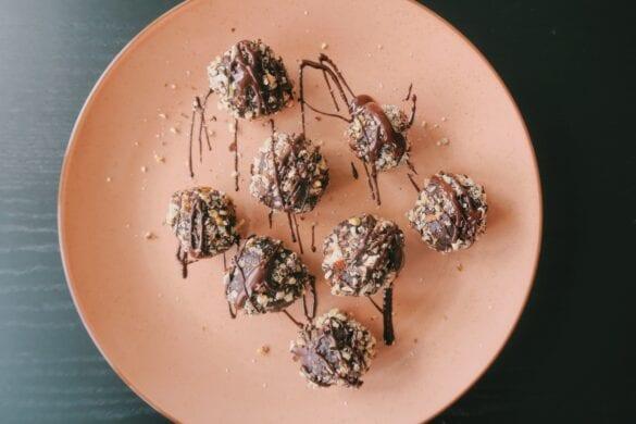 Gezonde Ferrero Rocher bliss balls