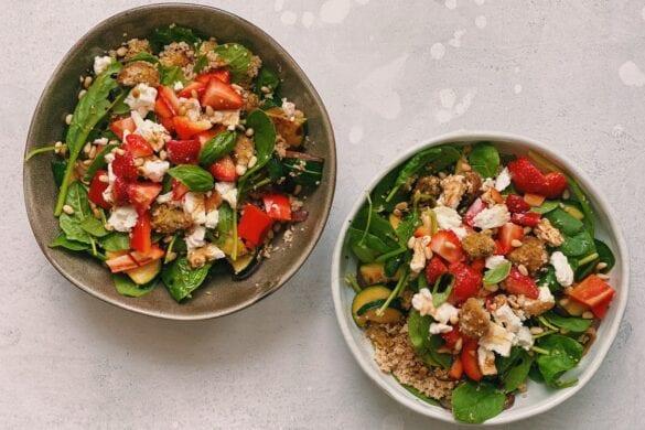 Zomerse couscous salade