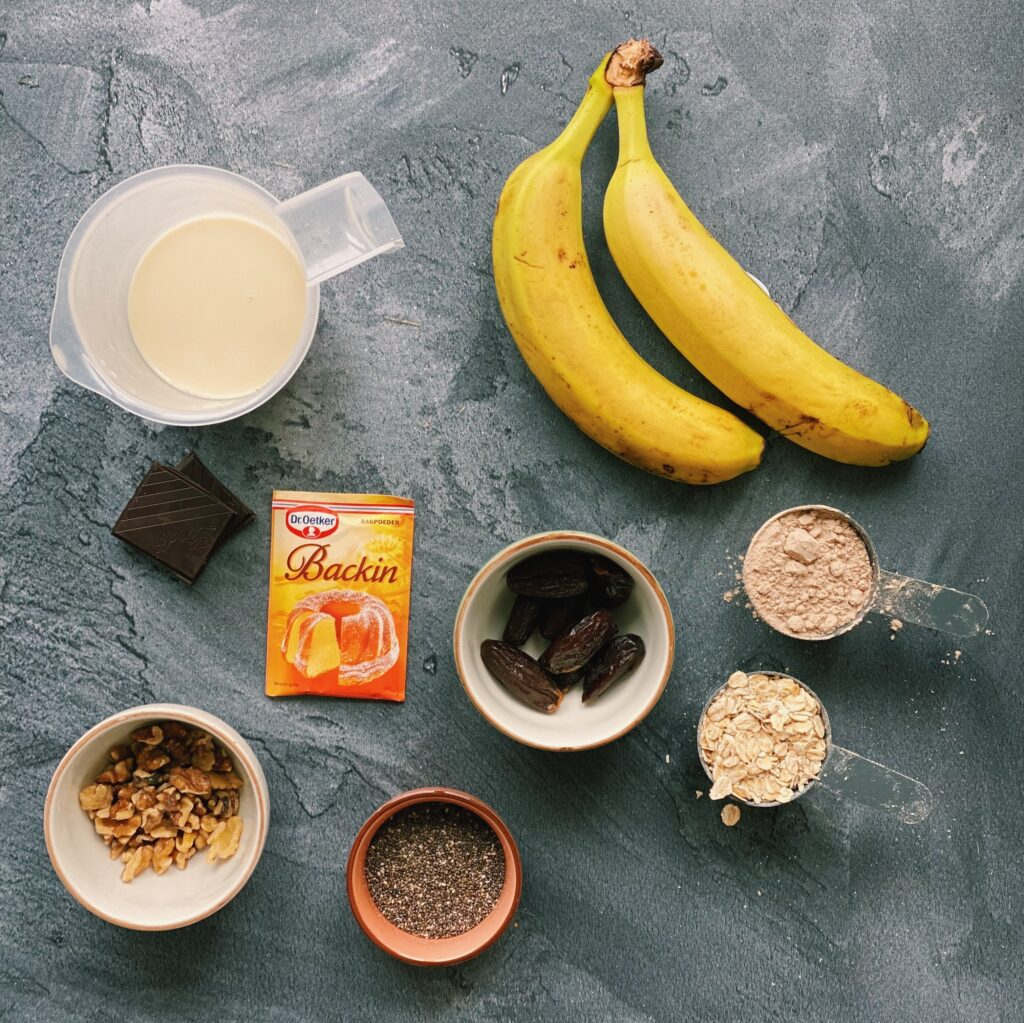 Vegan bananenbrood My Protein